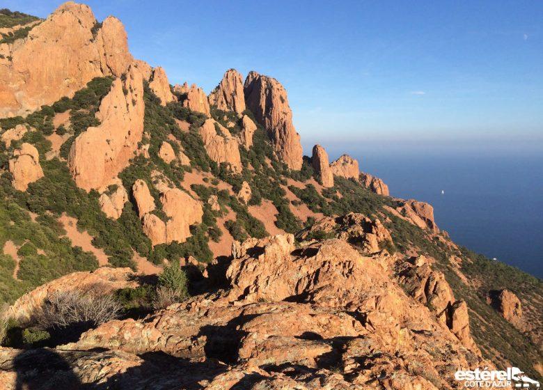 Randonnée : Les balcons du Cap Roux (Estérel)