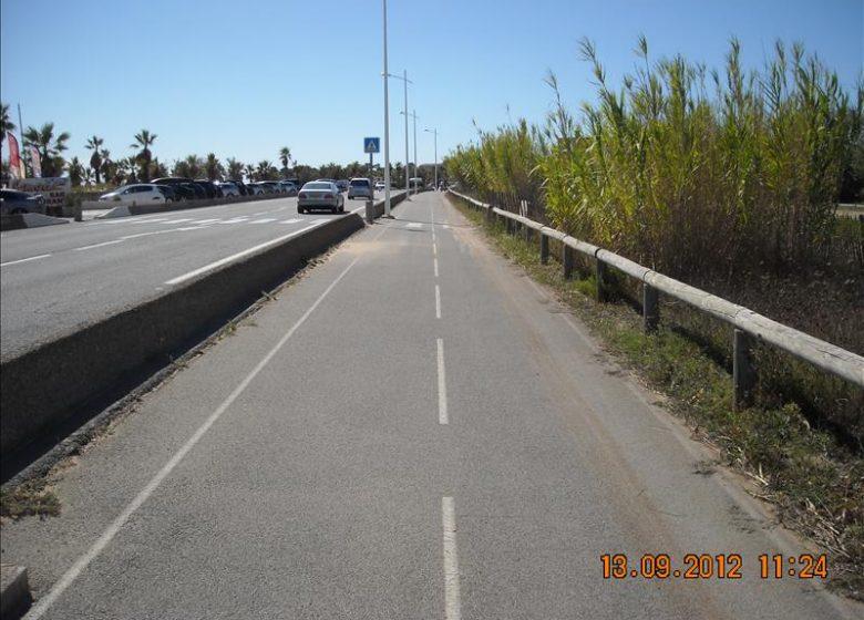 Parcours cyclable du littoral – V65 : Fréjus/St-Raphaël