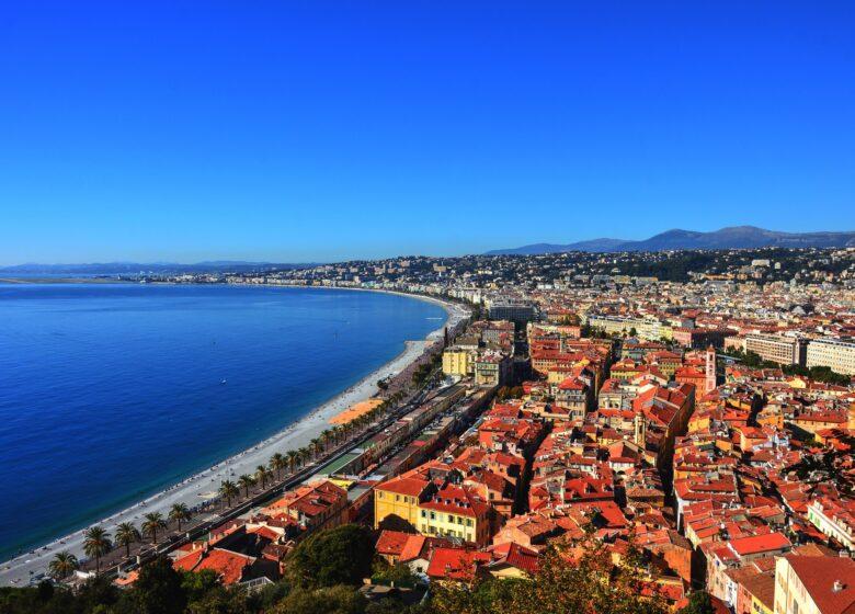 Moto : Fréjus/Nice par le bord de mer, retour Grasse